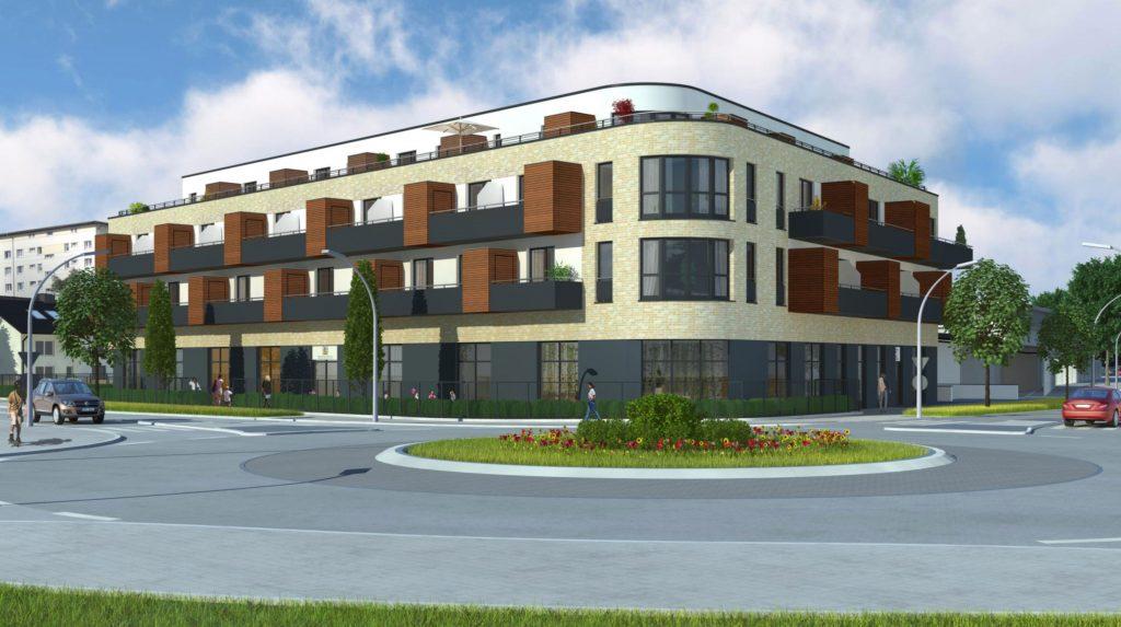Neubau eines Wohnobjekts mit Kita