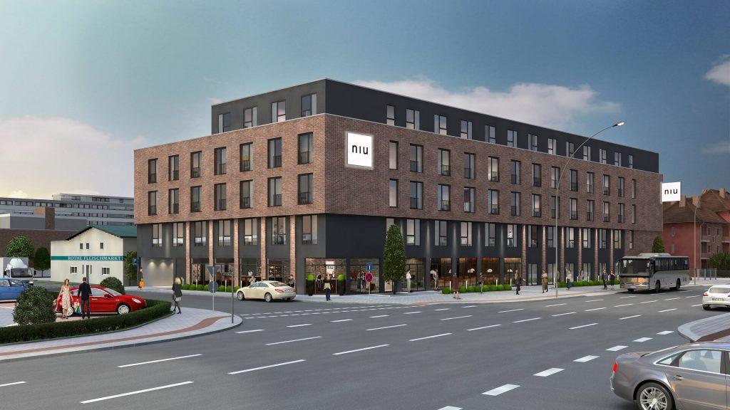 Neubau eines Hotels der Novum-Gruppe