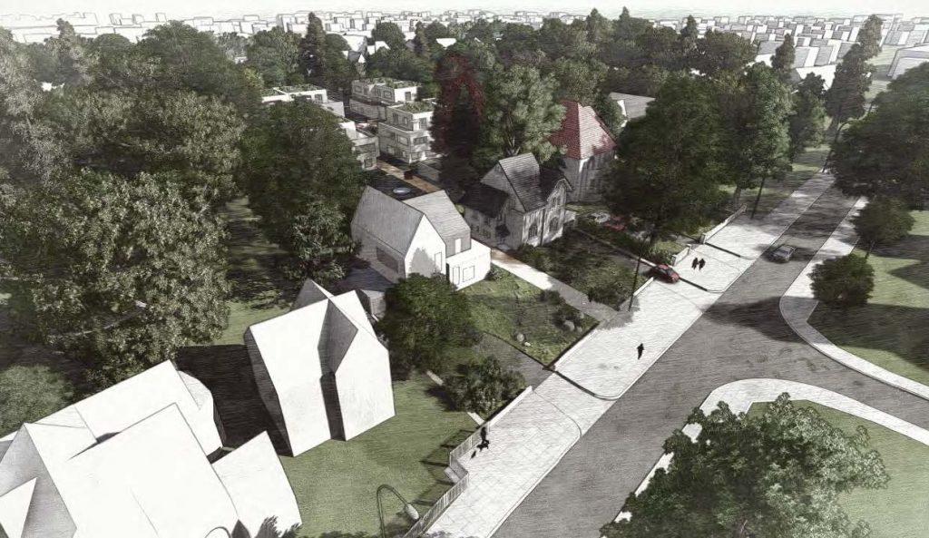 Neubau von nachhaltigen Eigentumswohnungen im Erhaltungsgebiet
